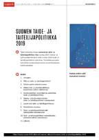"""Suomen <span class=""""highlight"""">taide</span>- ja taiteilijapolitiikka 2019&#160;..."""