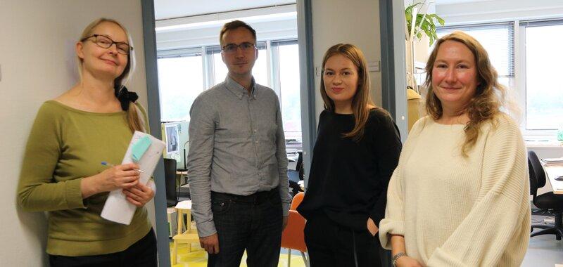 Haemme ruotsin kielen taitoista korkeakouluharjoittelijaa tutkimusassistentin tehtäviin