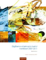 Digidemo-ohjelmasta tuetut hankkeet (2011)