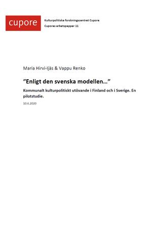 Enligt den svenska modellen...