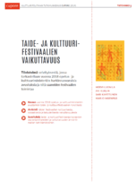 """Taide- ja <span class=""""highlight"""">kulttuuri</span>festivaalien vaikuttavuus -tietovihko&#160;..."""