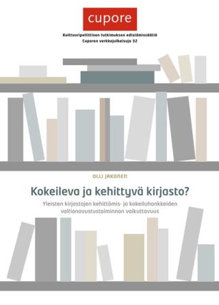 Developing public libraries. Effectiveness of subsidized development projects in public libraries.