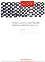 Valtionosuusmuseoiden talouden ja toiminnan kehitys 1992-2010