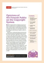 """Opinions of the Finnish Public on the <span class=""""highlight"""">Copyright</span> System"""