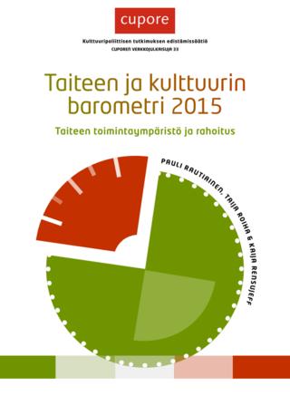 Taiteen ja kulttuurin barometri 2015