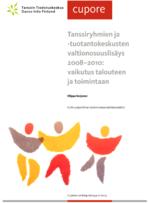Tanssiryhmien ja -tuotantokeskusten valtionosuuslisäys 2008 - 2010: vaikutus talouteen ja toimintaan