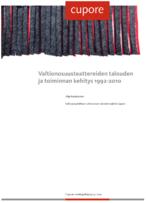 Valtionosuusteattereiden talouden ja toiminnan kehitys 1992-2010